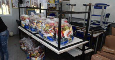 Entrega das cestas básicas e kits de limpeza para alunos da rede municipal estão atrasadas