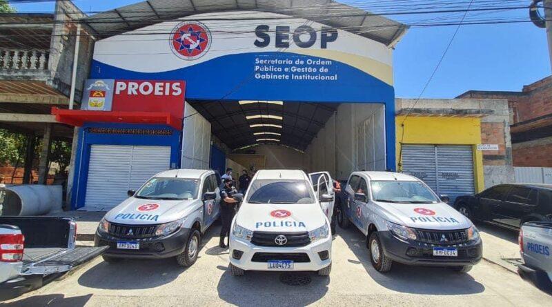 Maricá recebe 10 novas viaturas para o PROEIS
