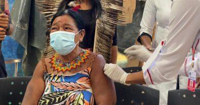 Vacina contra Covid-19 chega à aldeia indígena Mata Verde Bonita