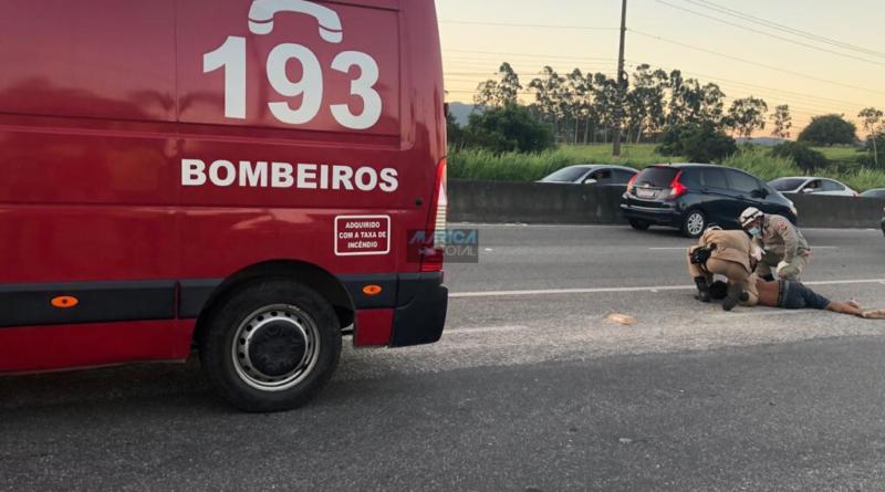 RJ-106: Homem morre atropelado no Parque Nanci