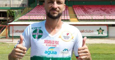 Sidney de Freitas, ex-jogador do Maricá FC, assina contrato com o Portuguesa-RJ