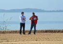 Prefeito Fabiano Horta visita obras de revitalização da Orla do Marine, em São José do Imbassaí